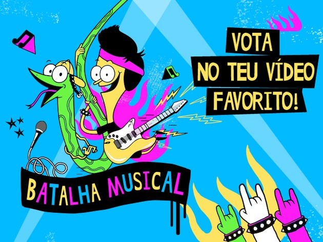 BATALHA MUSICAL DE SANJAY & CRAIG!