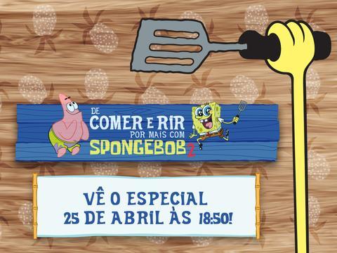 DE COMER E RIR POR MAIS COM SPONGEBOB 2!