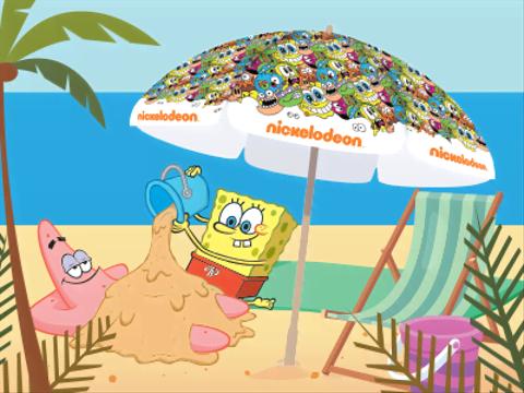 Ganha um chapéu de sol Nickelodeon!