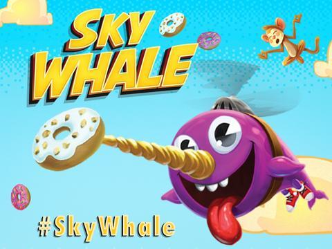 Faz download da nova app SKY WHALE!
