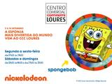 SpongeBob no Centro Comercial Continente de Loures!