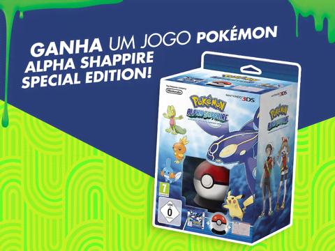 Ganha o jogo Pokémon Alpha Sapphire para a Nintendo 3DS