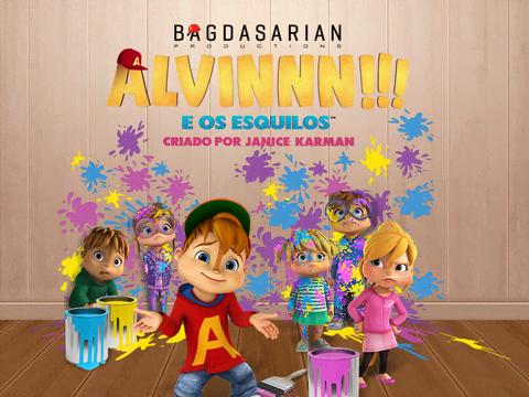 """""""ALVINNN!!! e os Esquilos"""" chegam dia 11 de maio"""