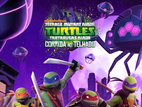 Tartartugas Ninja: Corrida no Telhado