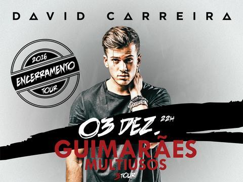 Ganha convites duplos para o concerto do David Carreira em Guimarães