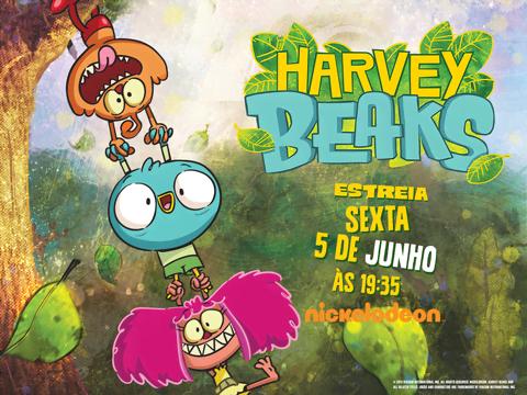 «Harvey Beaks» estreia no Nickelodeon!