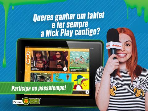 TERMINADO: Queres ganhar um tablet e ter a Nick play sempre contigo?