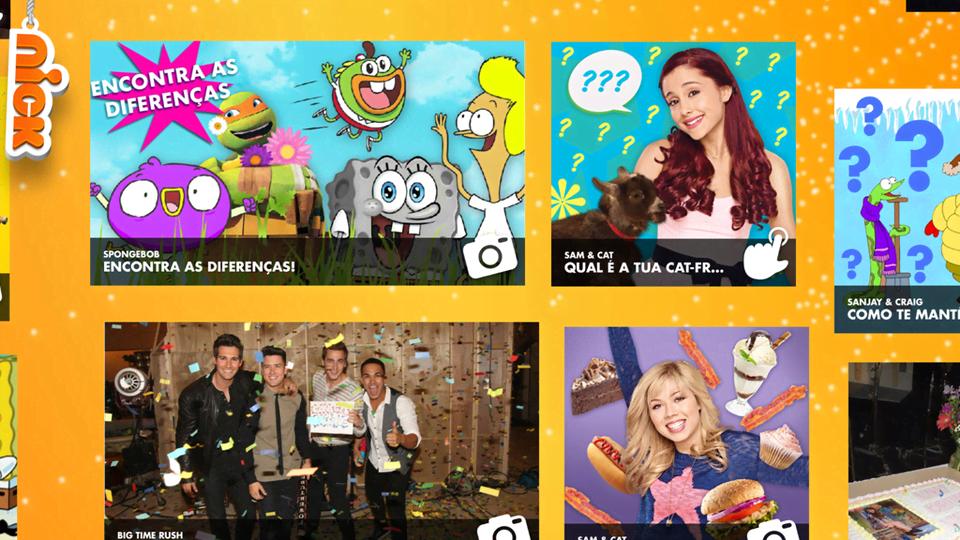 Nick App: Todo o Nickelodeon na ponta dos teus dedos!