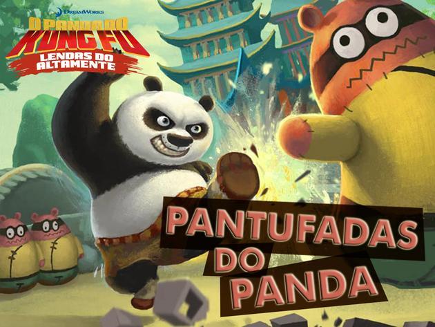 Panda do Kung Fu: Pantufadas do Panda
