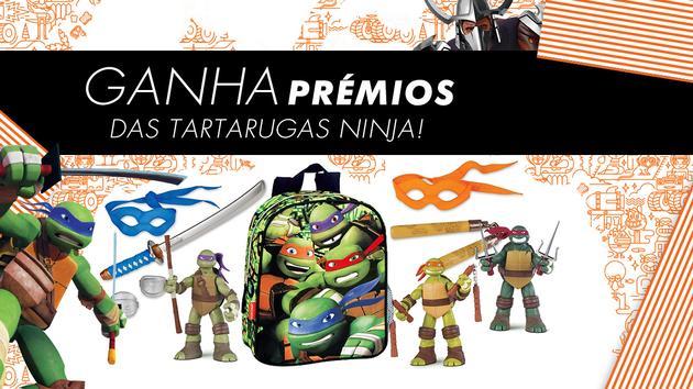 TERMINADO: Ganha prémios das Tartarugas Ninja!