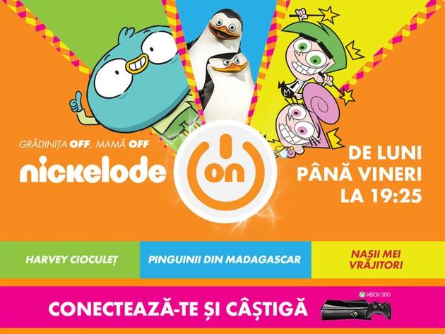 Uită-te la Nickelodeon şi poţi câştiga un Xbox 360!