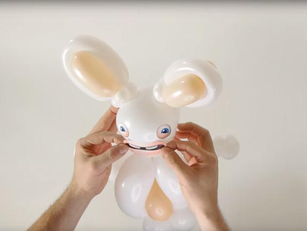 Învaţă cum să faci iepuri din baloane