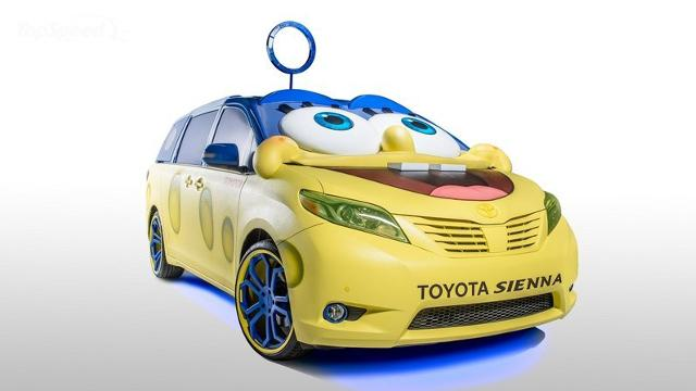 Новый концепт кар от Nickelodeon и Toyota!