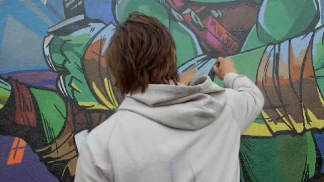 Черепашки-ниндзя – Конкурс Стрит-арта