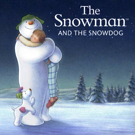Снеговик и снежный пёс (0+)