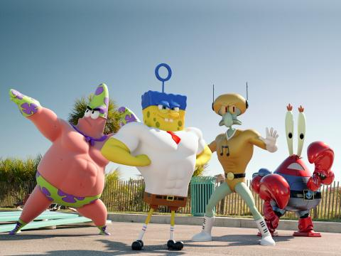 Губка Боб в 3D - кадры из фильма