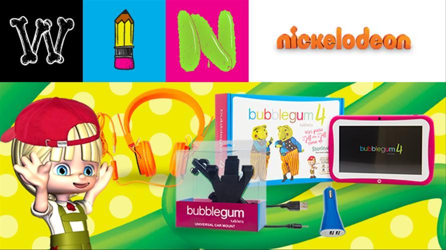 Win a Bubblegum Tablet hamper!