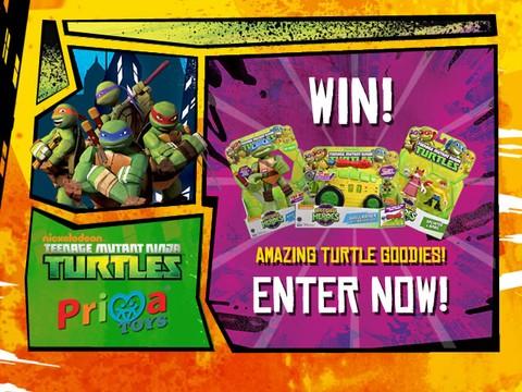 Win amazing turtle goodies!