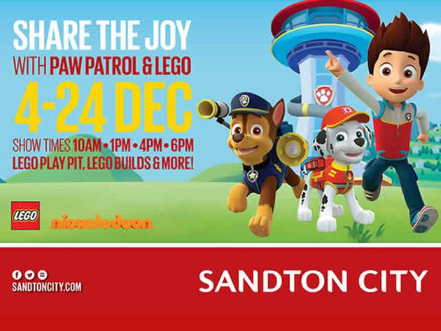ALL PAWS TO THE RESCUE AT NICK JUNIOR'S CHRISTMAS EXTRAVANGZA