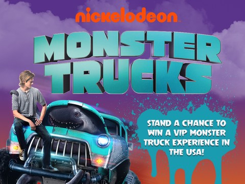 Win with Monster Trucks and Nickelodeon