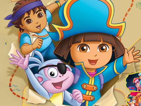 Dora's Pirate Adventure!