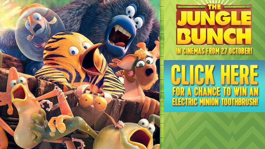 Win with Nickelodeon and The Jungle Bunch!