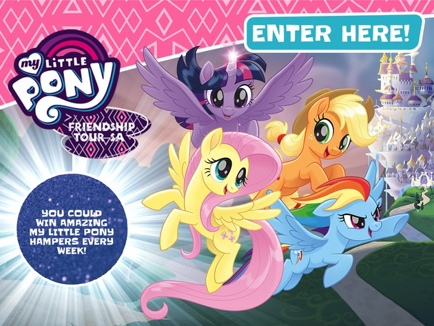 Win with the MLP Friendship Tour!