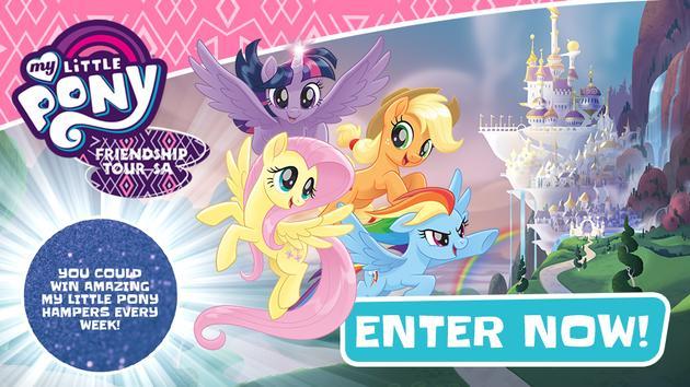 My Little Pony Friendship Tour Cometition