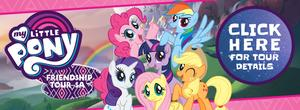 Find out more about the My Little Pony Friendship Tour here!