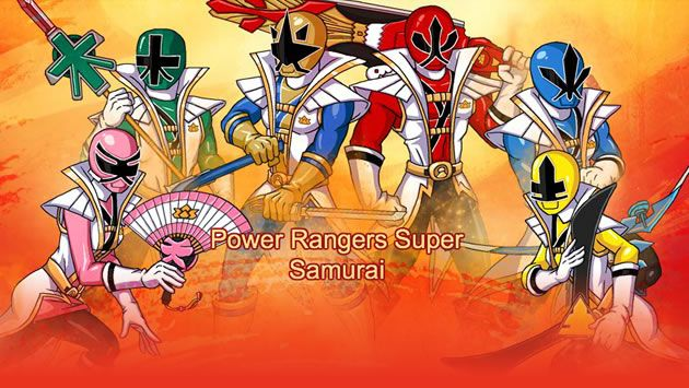 power ranger super samurai game free