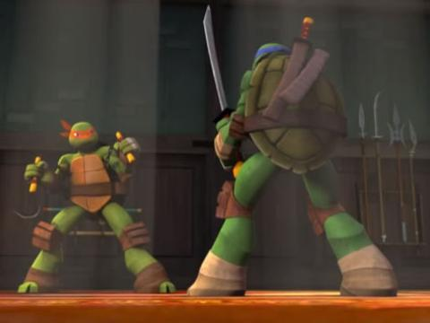 Teenage Mutant Ninja Turtles: Training Showdown