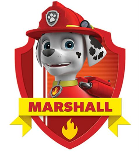 Marshall From Paw Patrol Nick Intl Dev