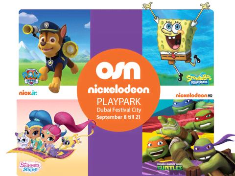 Nickelodeon Playpark Mall Tour