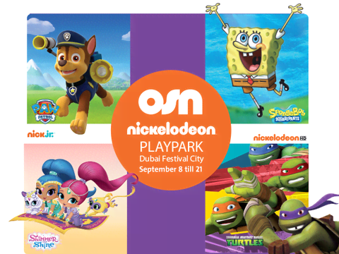 Nickelodeon Playpark Mall Tour