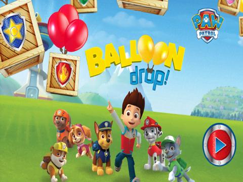Paw Patrol:Balloon Drop