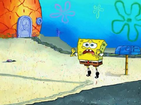 Spongebob Trying to Meet