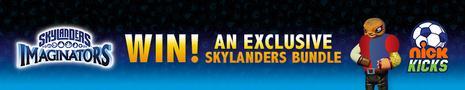 Nick Kicks Skylanders