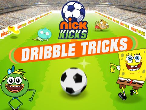 Nick Kick Dribble Tricks