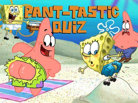 SpongeBob's Pant-tastic Quiz