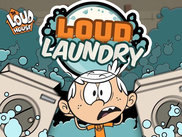 Nick Gamer: Loud Laundry