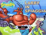 Larry in spiaggia