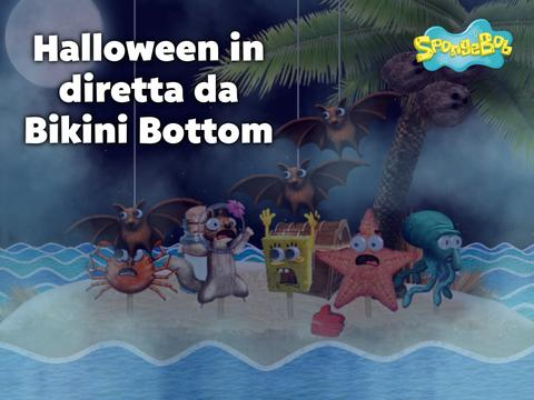 Halloween in diretta da Bikini Bottom