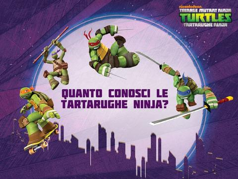 Quanto conosci le Tartarughe Ninja?