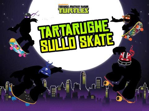 Tartarughe sullo skate