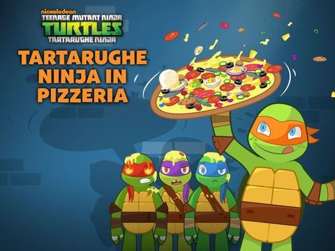 Tartarughe Ninja in pizzeria