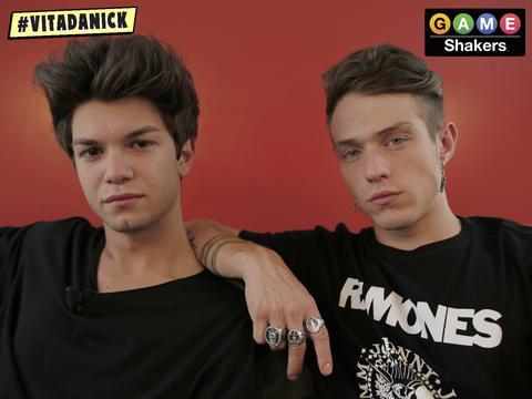 Alberico e Irama diventano Game Shakers!