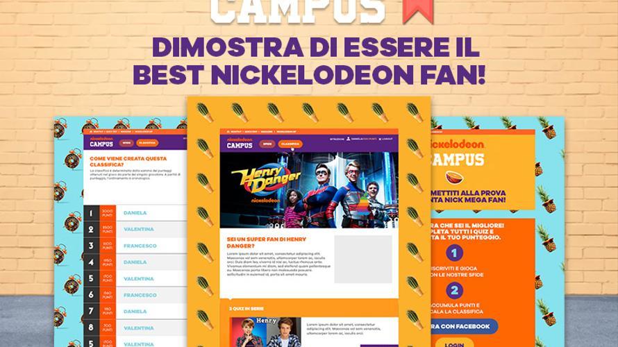 Gioca al Nickelodeon Campus!
