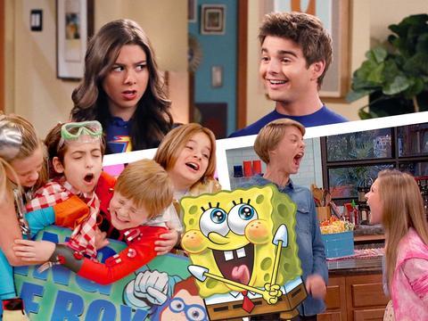 Spongebob remix con le star di Nickelodeon