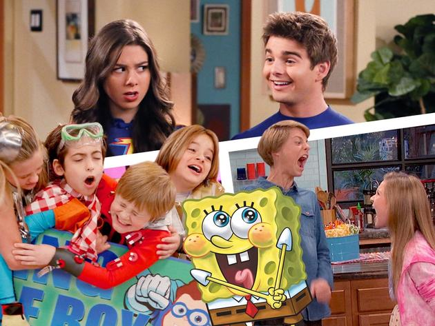 Spongebob remix con le star di Nickelodeon
