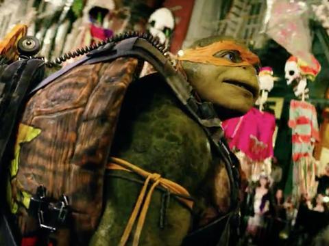 Anteprima film Tartarughe Ninja 2: Halloween